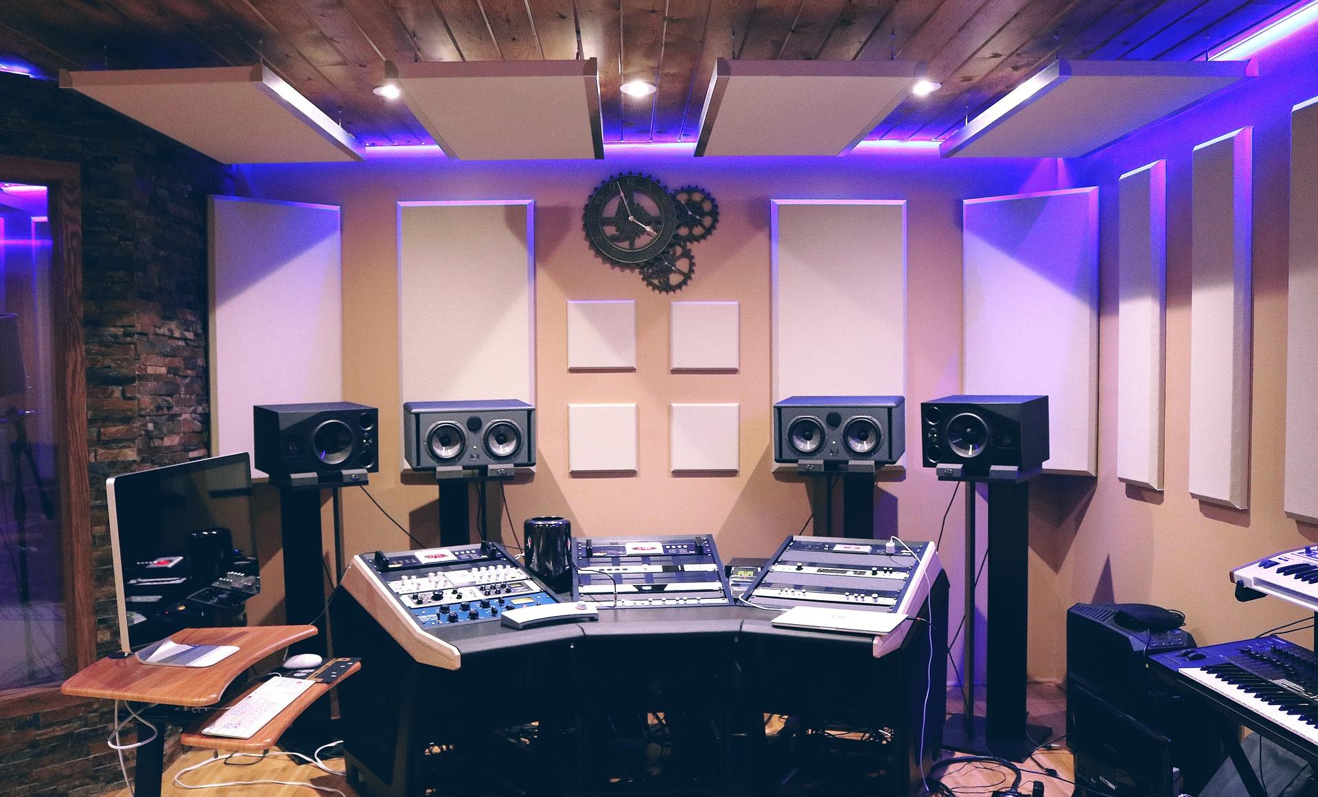 Recording studio Switzerland
